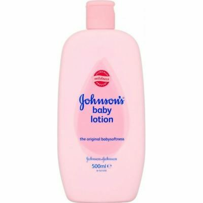 Johnson's Baby Lotion (500ml) - Pack of 2