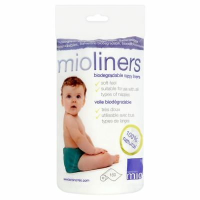 Bambino Mio Nappy Liners (160) - Pack of 2