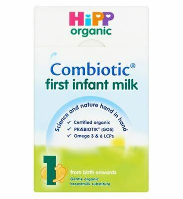 Hipp Organic Combiotic First Infant Milk 1 From Birth Onwards 800G - Pack of 2