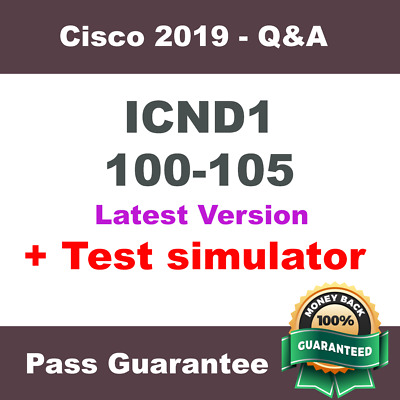 Cisco ICND1 Exam Dump for 100-105 Exam Q&A PDF (2018 Verified)
