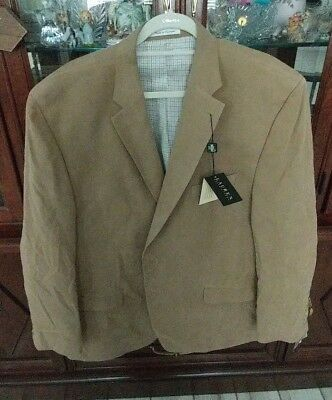 RALPH LAUREN 50 Regular TAN DRESS SUIT JACKET NEW WITH TAGS