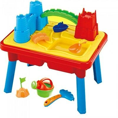 2 in 1 Sand and Water Play Table with lots of accessories