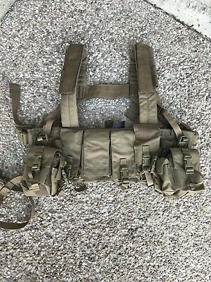 NEW! LBT-1961 Chest Rig Coyote Tan 499 London Bridge Trading w/ Holster