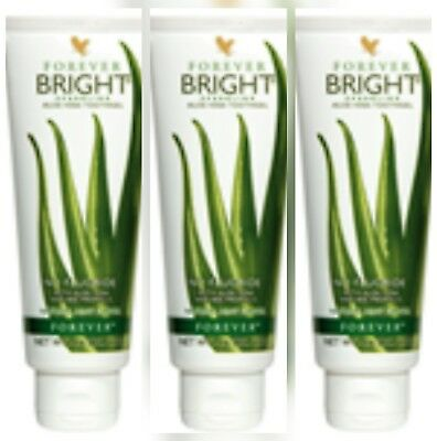 New Forever Living -Aloe Vera Tooth Gel - bright-NATURAL MINT-No Fluoride