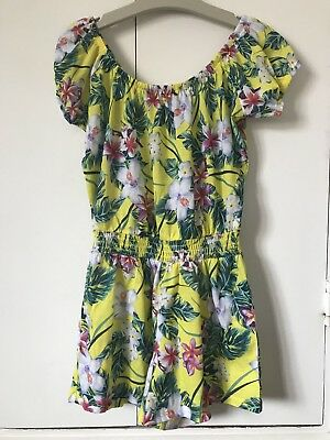 River Island Girls Tropical Playsuit - Age 9 -10 Years
