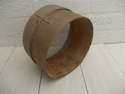 Vintage Wooden Traditional Flour Sieve Sifter Kitchenalia