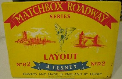 1961 Matchbox Lesney ROADWAY Layout Series No R-2 Heart of London VHTF