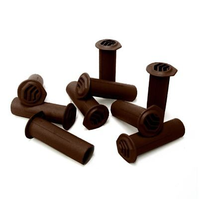 5 x Brown Drill Weep Vents Round Vent Cavity, Rendered Walls, Retaining Wall