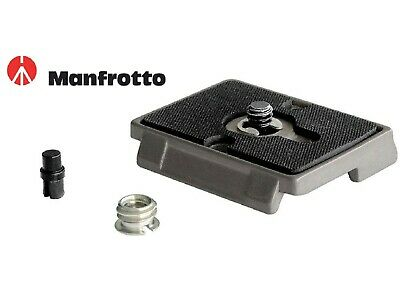 """Manfrotto 200PL - 100% Genuine - Manfrotto Quick Release Plate with 1/4"""" Screw"""