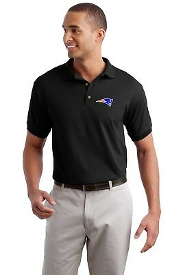 New England Patriots Golf Polo Shirt - up to 6X Embroidered