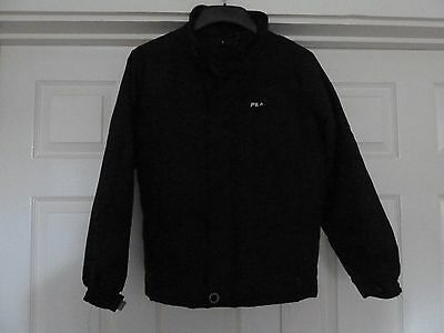 78a78d3a8034 FILA Boys Black Jacket Coat Size MB 1 of 2 ...