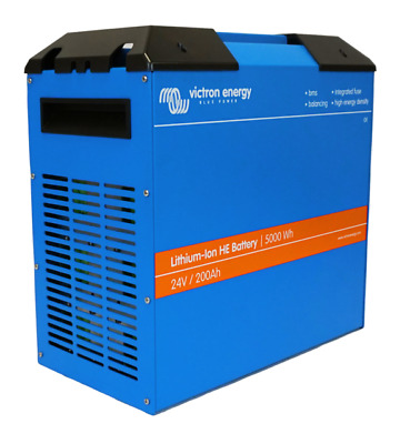 Victron Lithium HE Battery For Leisure Off Grid Solar Application 24V 200Ah