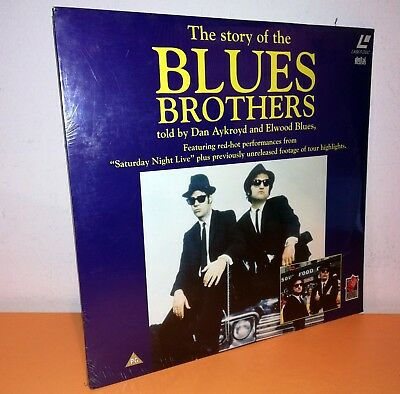 Laserdisc The Story Of The Blues Brothers Nuovo Ancora Sigillato Raro Pal