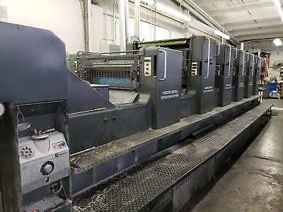 1994  Heidelberg Sm 102Fp H+ L With Tower Coater, Cpc Console, Cp Tronics