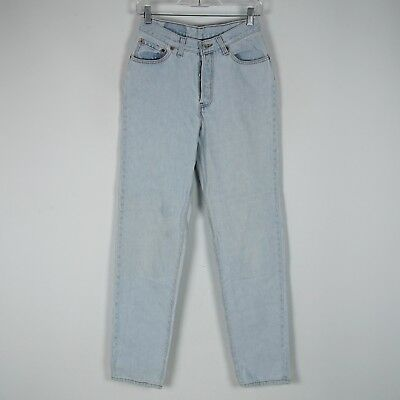 Womens Vintage Levis 501 Jeans Size 9M Button-Fly High Waist USA Made