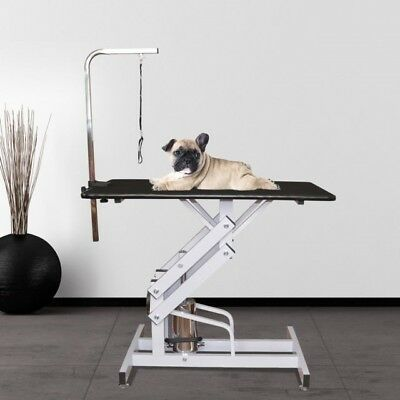 Brand new, still boxed . Pawhut hydraulic dog grooming table