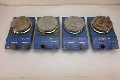 Lot of 4 Genuine IKA RCT Basic Safety Control Hot Plate Stirrer P/N RCT B S1