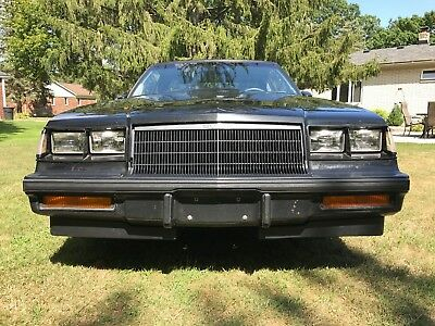 1986 Buick Grand National Black 1986 Buick Grand National