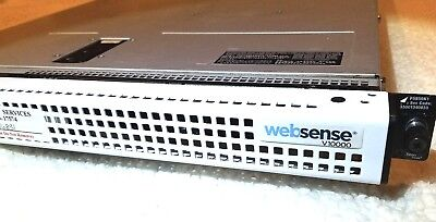 Websense V10000 network secruity Pulled from working Environment