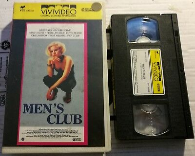 VHS - MEN'S CLUB di Peter Medak [VIVIVIDEO]