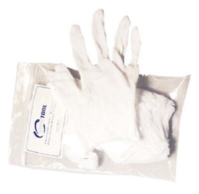 Large Lightweight Soft Cotton Gloves for handling Coins and Jewelry Free US Post