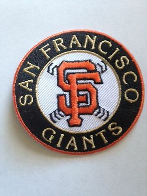 San Francisco Giants/49ers Jersey Logo Patches Iron On Sew On Shirt Jackets Bag