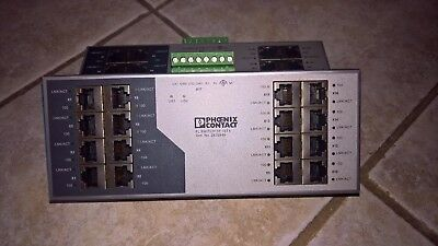 2 Phoenix Contact Ethernet Switch FL SWITCH SF 16TX