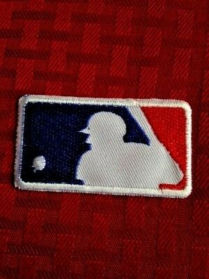 """MLB Jersey Sleeve Logo Patch Iron On Sew Shirt Jacket Bag 2.55"""" In Stock"""