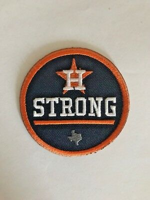 Houston Astros Strong MLB Patch Minute Maid Iron On Sew Shirt Jacket Hoodie Bag