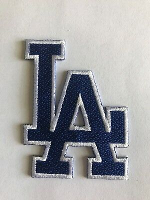 LA Dodgers Stadium Jersey Patch Iron On Sew Shirt Jacket Bag Hat Cap In Stock
