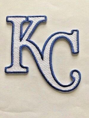 Kansas City/KC Royals MLB Logo Patch Iron On Sew Shirt Hoodie Kauffman Stadium