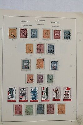 Bulgaria 1884 to 1933 Good Range of Postage Dues with Complete Sets (2 Pages)