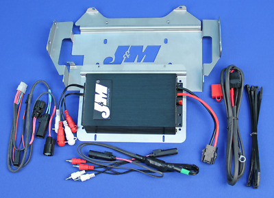 J&M Audio 400 Watt 4 Channel Amp Kit for 2014 & Up Harley-Davidson Street Glide