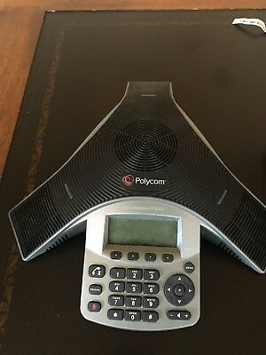Polycom Soundstation IP 5000 - Excellent Condition, complete with box and docs