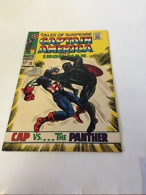 Tales Of Suspense 98 Captain America And Iron man Black Panther Appearance