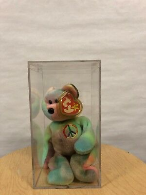PEACE ty beanie baby - Beanie Babies for the Brave - TAGS, VERY GOOD CONDITION