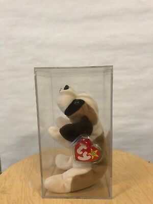 BERNIE ty beanie baby - Beanie Babies for the Brave - TAGS, VERY GOOD CONDITION