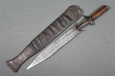 Antique Fang short sword - Africa, Gabon 19th early 20th century