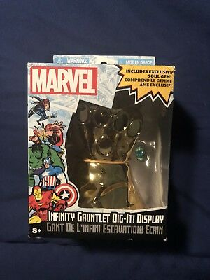 Infinity Gauntlet Dig-It! Display Marvel Soul Gem Thanos (Marvel Collectible)