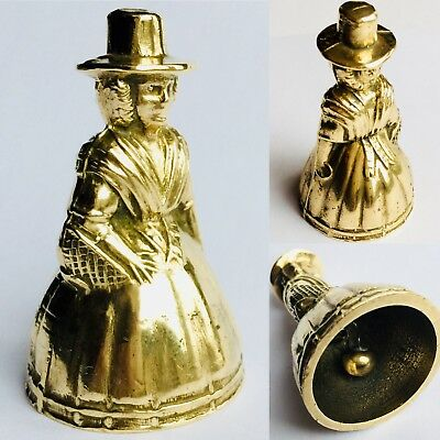 "Superb Rare Antique Miniature English Georgian (1800s) Elegant 2""/5cm Brass Bell"