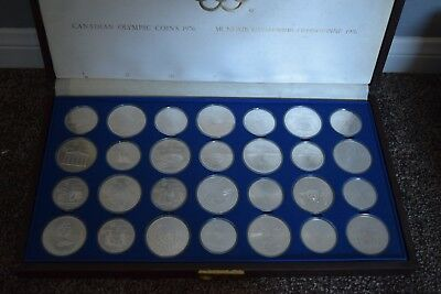 1976 Canadian Olympic Silver Coins