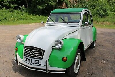 Citroen 2CV6 Dolly in Green/White - long mot - located HR8