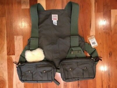 NEW FILSON MADE IN USA Cover Cloth FLY FISHING STRAP VEST Size Super