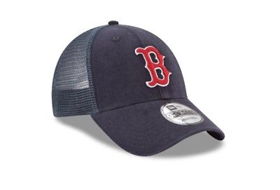 511033bf BOSTON RED SOX New Era Trucker 9forty Adjustable Hats, Caps - $20.39 ...