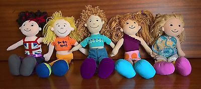 Lot of 5 Manhattan Toy - Groovy Girls - Includes Pre-2000 Originals