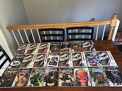 "🦇 Batman:Death of the Family Complete ""B/A ""Collection/Run/set/ NM. 1st Prints."