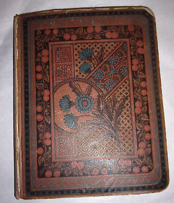 Nice Antique Late 1800's Victorian Scrapbook Trade Cards Die Cut 70+  Full Pages