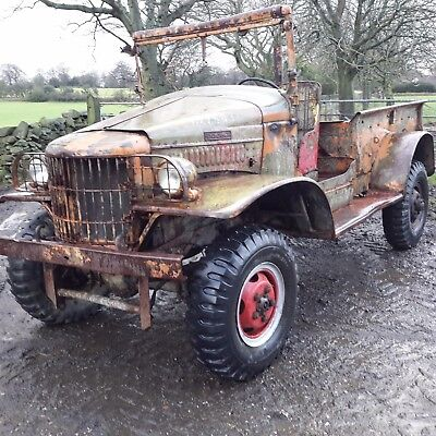 1941 dodge wc  weapons carrier ww2 barn find military vehicle classic truck