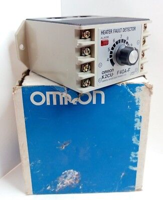 Omron Heater Fault Detector K2Cu-F40A-F New!!