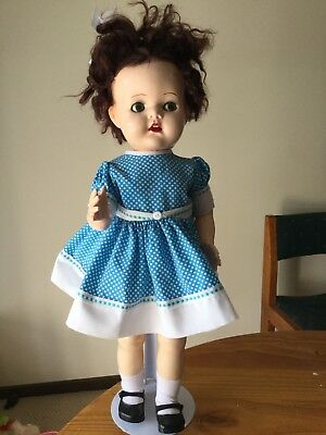 Vintage Pedigree Doll, 21 inches tall.